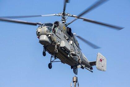 Вертолет совершил жесткую посадку на Камчатке