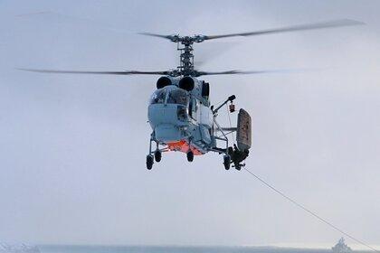 Поиски совершившего жесткую посадку вертолета ФСБ решили отложить