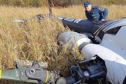 Вертолет завалился на бок при посадке на Камчатке
