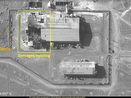 Секретный бункер КСИР был повреждён взрывом неизвестной природы