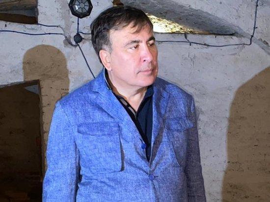 Голодающий Саакашвили провозгласил себя политзэком