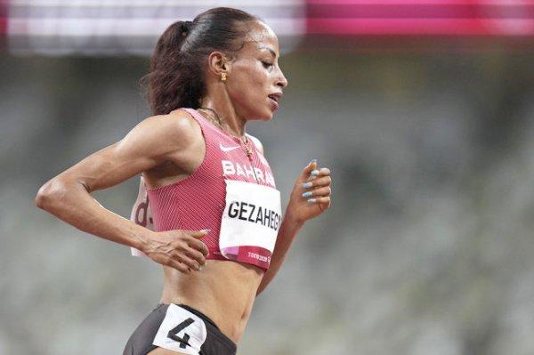 Калькидан Гезань из Бахрейна установила рекорд мира в беге на 10000 метров