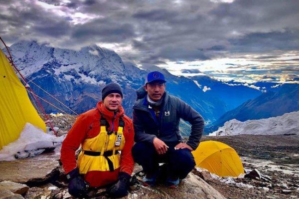 Лишившийся ног уфимец достиг вершины Манаслу высотой 8156 метров