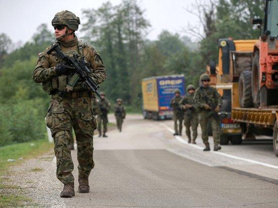 Балканский кризис: к границе Сербии и Косово стянули силы НАТО