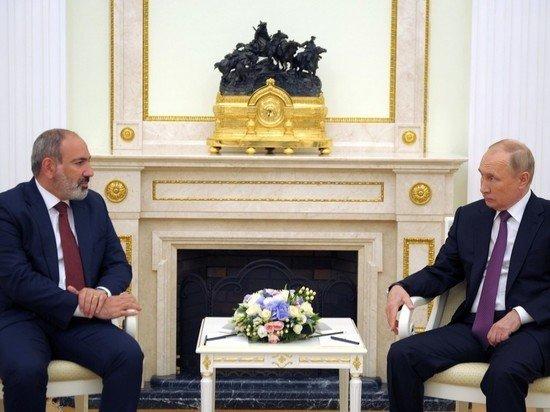 Песков рассказал о предстоящей встрече Путина и Пашиняна