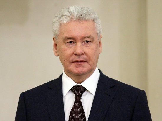 Собянин назвал «сложной» динамику заболеваемости в Москве