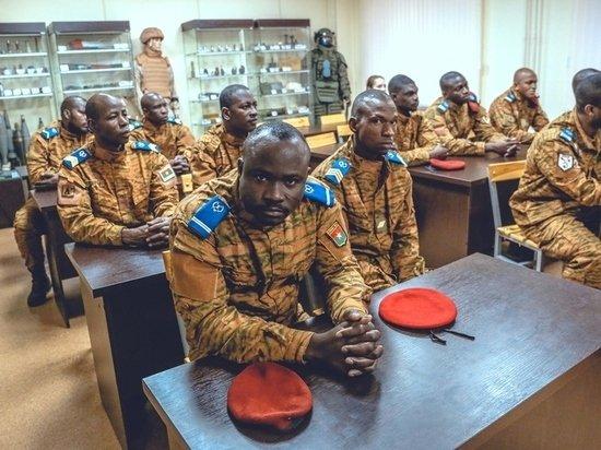 В Подмосковье подготовили первую группу саперов из Буркина-Фасо