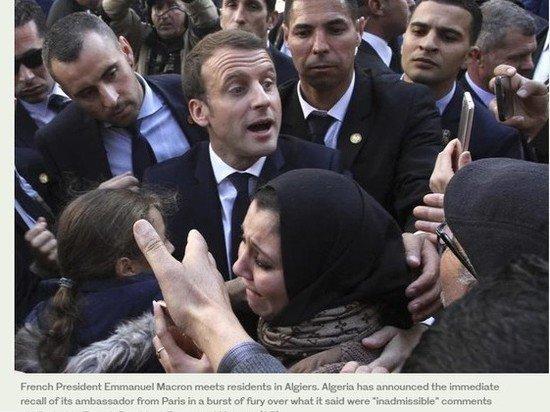 Макрон заявил о надеждах, что напряженность с Алжиром скоро ослабнет