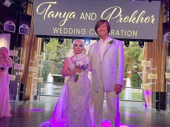 Фотограф нашел странности в свадебных фото Прохора Шаляпина и Татьяны Дэвис