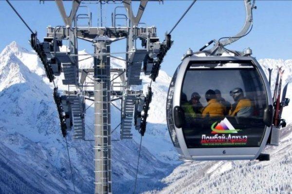 На курорте Домбай построят новую канатную дорогу и горнолыжные трассы