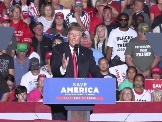 Трамп перепутал Пакистан и Афганистан в своей речи на митинге