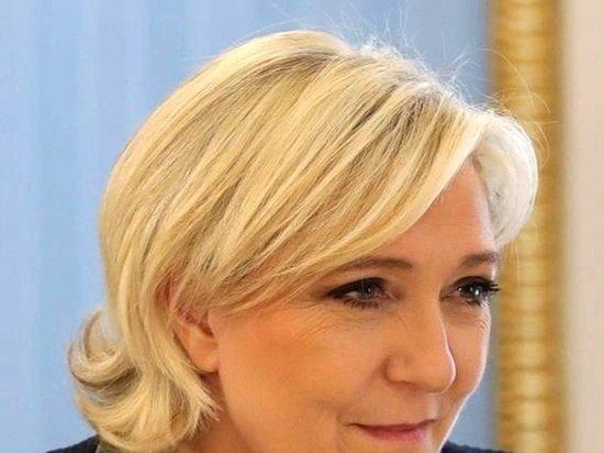 Ле Пен предположила, что выиграет выборы во втором туре