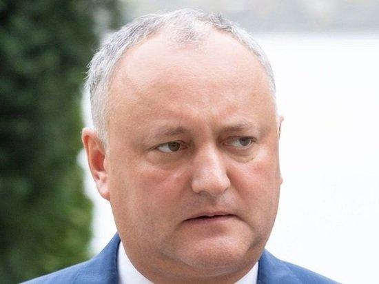 Экс-президент Молдавии Додон предсказал новые протесты в стране