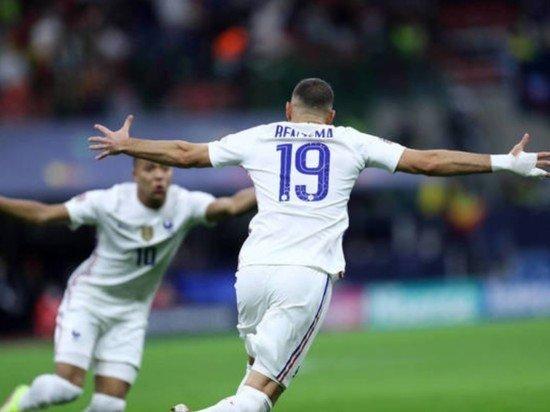 Форвард сборной Франции Бензема стал лучшим игроком финала Лиги наций