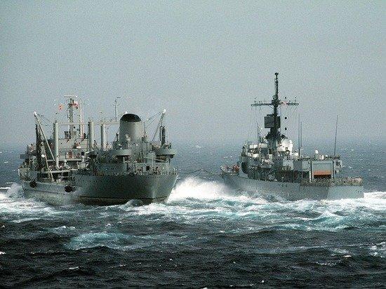В Японском море корабли Тихоокеанского флота выпустили десять ракет