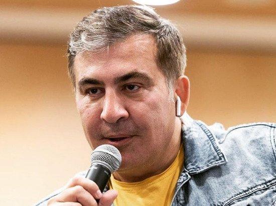 Саакашвили прибыл в Грузию в контейнере со сметаной