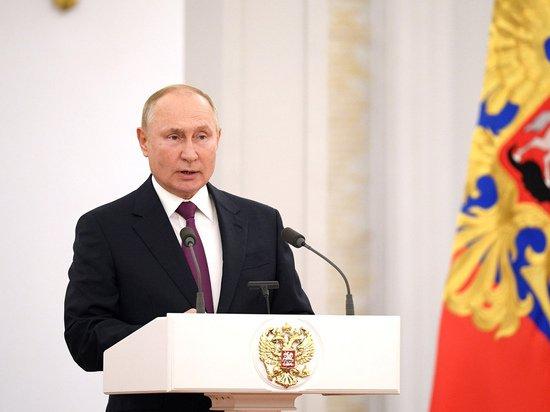Путин назвал главным врагом граждан низкие доходы