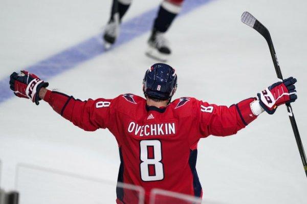 Овечкин вышел на пятое место по голам в НХЛ, опередив Дионна