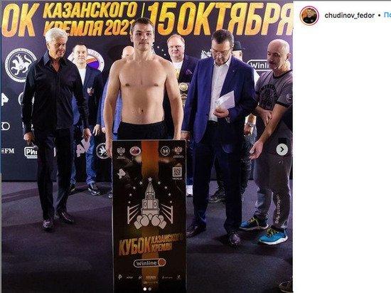 Боксер Федор Чудинов победил немца Миттага в Казани