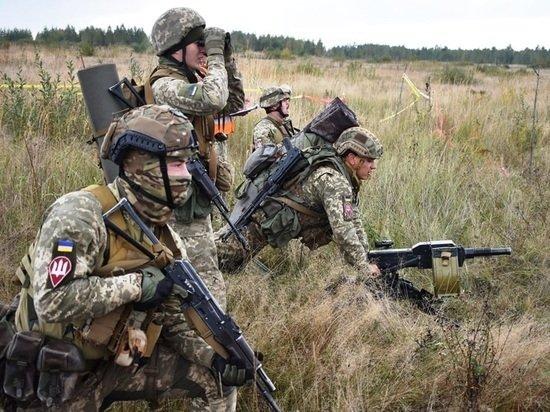 Украинский военный назвал два условия начала операции по «возвращению» Донбасса