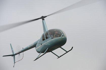 В Подмосковье разбился легкомоторный вертолет