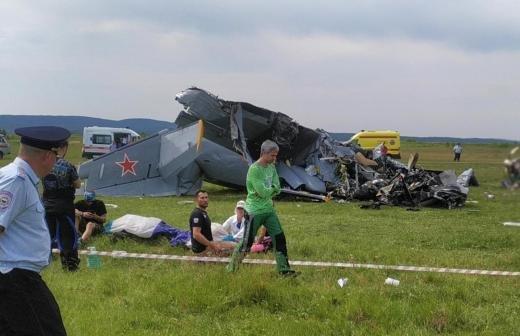 Власти Татарстана рассказали о состоянии пострадавших в крушении самолета