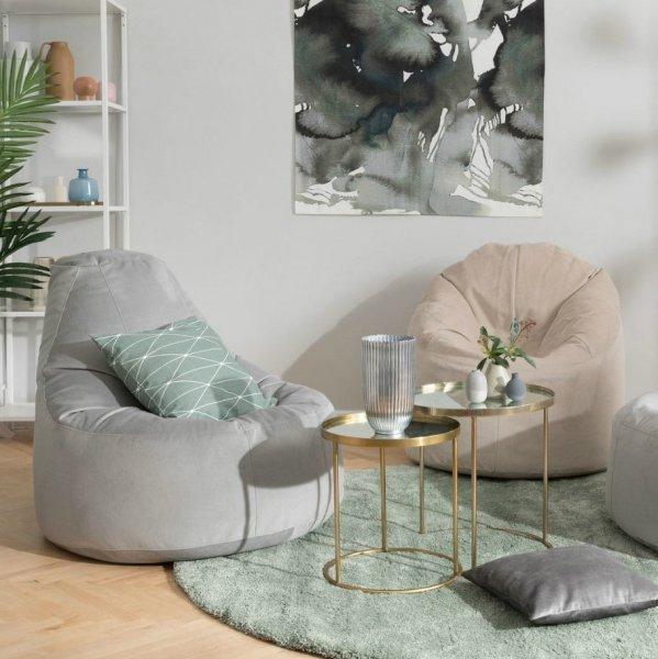 Кресла мешки в современном интерьере: комфорт и функциональность бескаркасной мебели